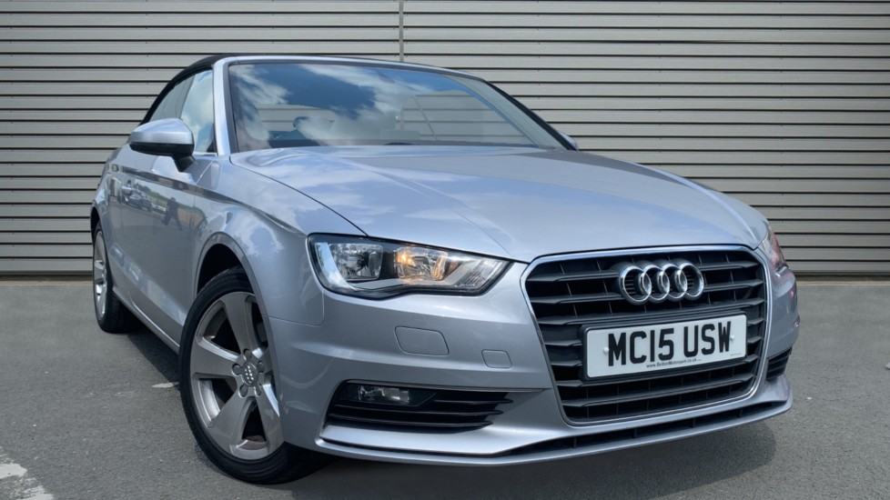 Used Audi A3 Cabriolet Convertible 1.4 TFSI CoD Sport Cabriolet 2dr