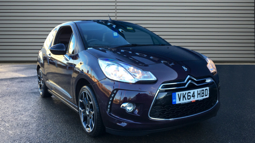 Used Citroen DS3 CABRIO Convertible 1.6 e-HDi Airdream DStyle Plus Cabriolet 2dr