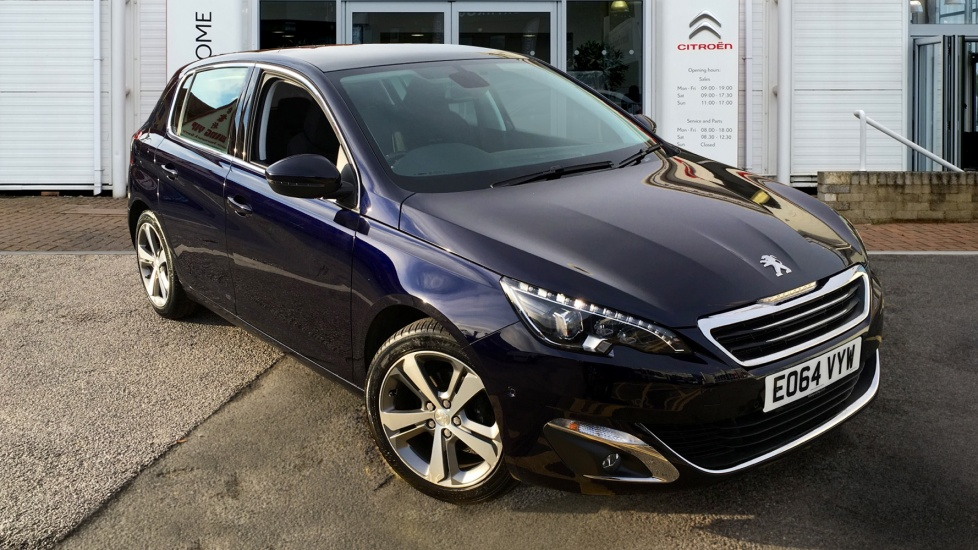 Used Peugeot 308 Hatchback 1.6 e-HDi Allure 5dr (start/stop)