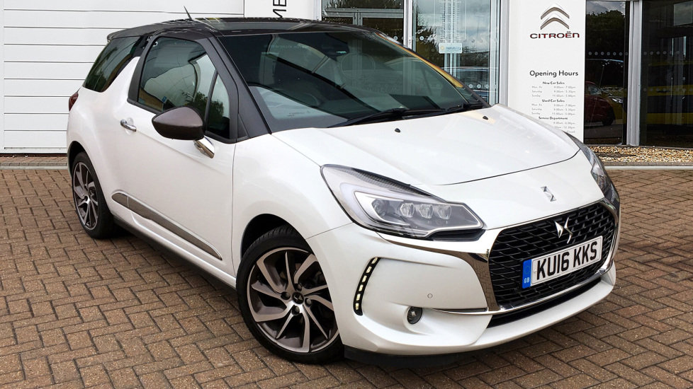 Used DS Automobiles DS 3 Hatchback 1.6 THP Prestige (s/s) 3dr