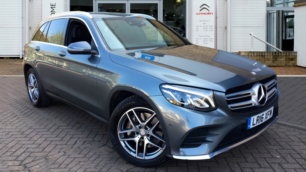 Used Mercedes-benz GLC CLASS SUV 2.1 GLC220d AMG Line Auto 4MATIC (s/s) 5dr