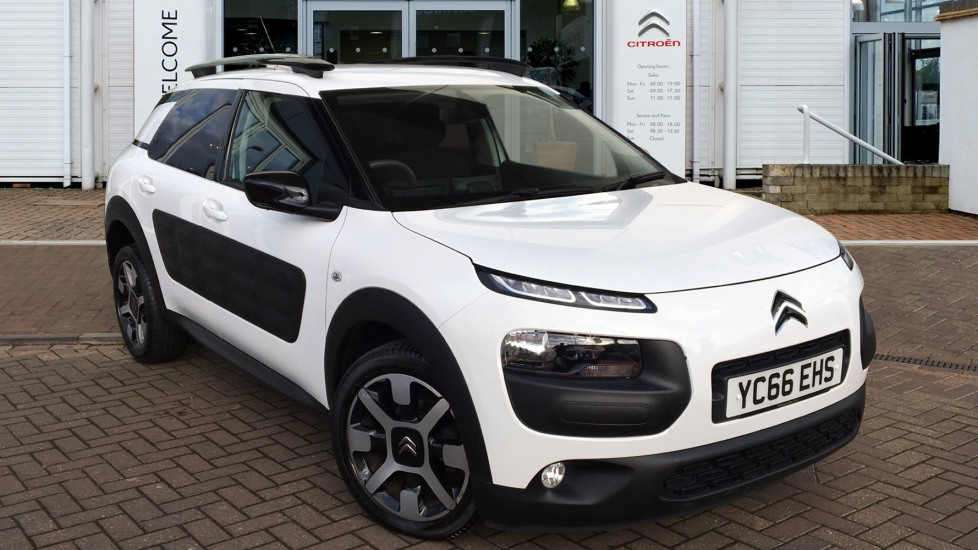 Used Citroen C4 Cactus Hatchback 1.6 BlueHDi Flair ETG6 (s/s) 5dr