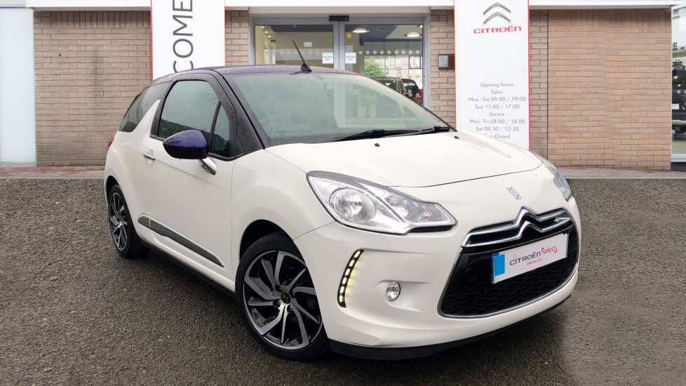 Used DS Automobiles DS 3 CABRIO Convertible 1.2 PureTech DStyle Nav Cabriolet EAT6 (s/s) 2dr