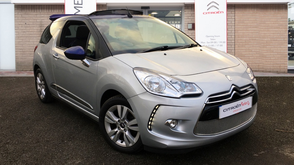 Used Citroen DS3 CABRIO Convertible 1.6 VTi DStyle 2dr