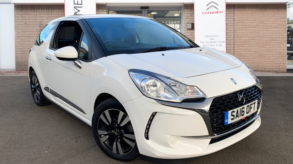 Used DS Automobiles DS 3 Hatchback 1.6 BlueHDi Chic (s/s) 3dr
