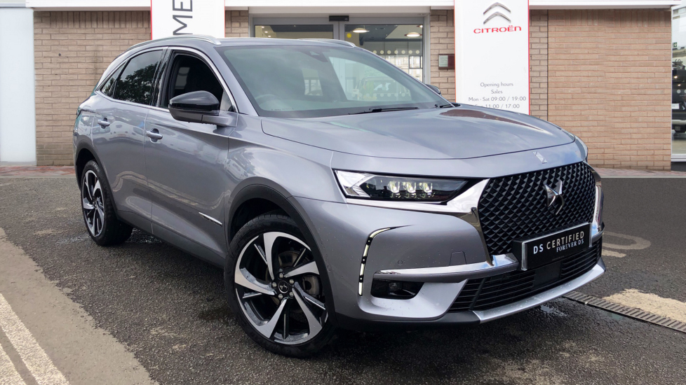 Used DS Automobiles DS 7 CROSSBACK SUV 1.6 PureTech GPF Ultra Prestige Crossback EAT8 (s/s) 5dr