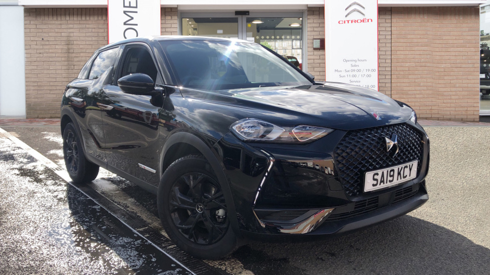 Used DS Automobiles DS 3 CROSSBACK Hatchback 1.2 PureTech Performance Line Crossback EAT8 (s/s) 5dr