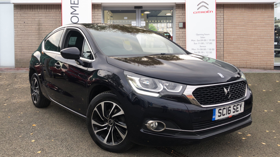 Used DS Automobiles DS 4 Hatchback 1.6 BlueHDi Elegance (s/s) 5dr