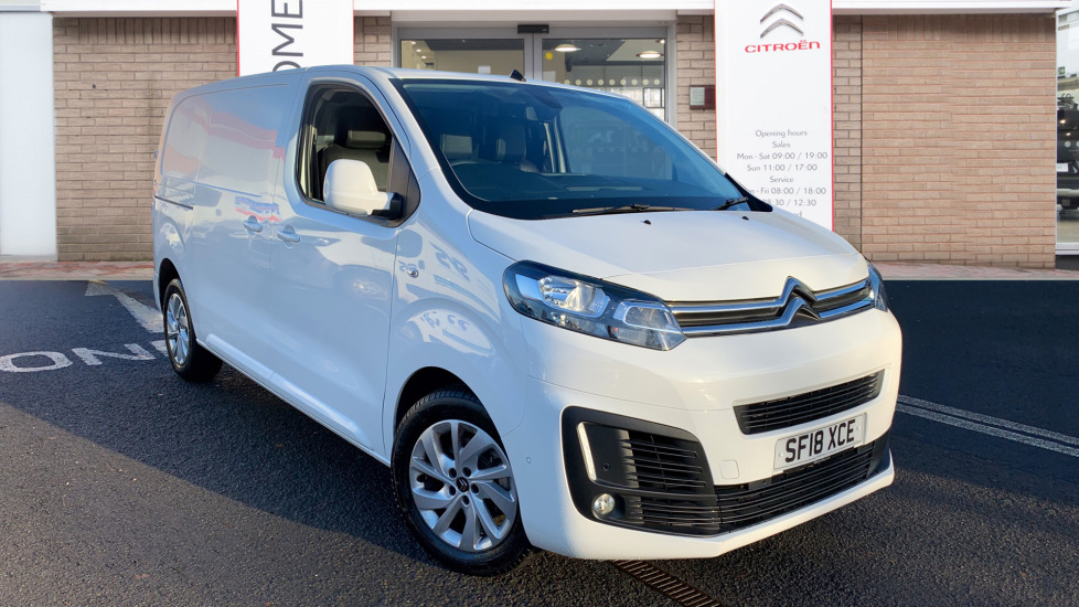 Used Citroen DISPATCH Panel Van 2.0 BlueHDi Enterprise Plus M 1400 Panel Van (s/s) 5dr (EU6)