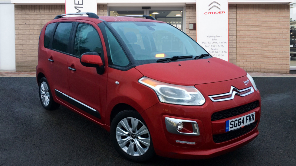 Used Citroen C3 PICASSO MPV 1.6 HDi Exclusive 5dr