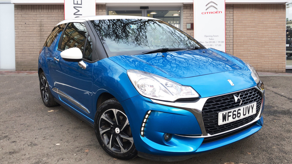 Used DS Automobiles DS 3 Hatchback 1.6 BlueHDi Elegance (s/s) 3dr
