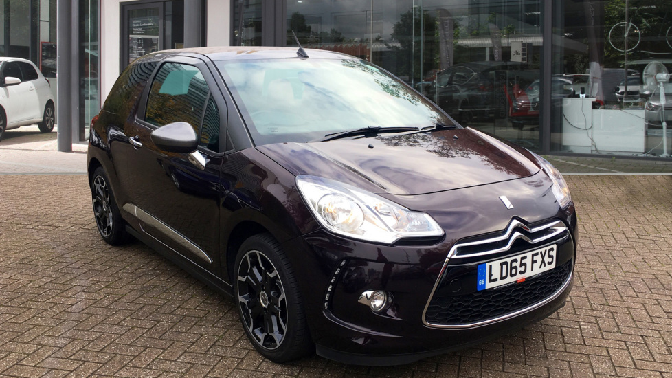 Used DS Automobiles DS 3 CABRIO Convertible 1.2 PureTech DStyle Cabriolet (s/s) 2dr