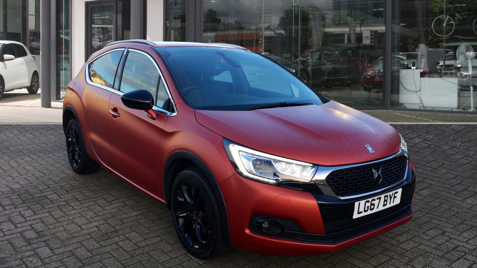 Used DS Automobiles DS 4 CROSSBACK Hatchback 2.0 BlueHDi Terre Rouge EAT6 (s/s) 5dr