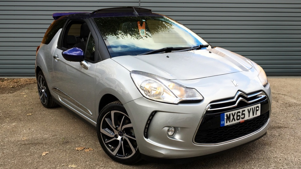 Used DS 3 CABRIO Convertible 1.2 PureTech DStyle Cabriolet 2dr (nav, start/stop)