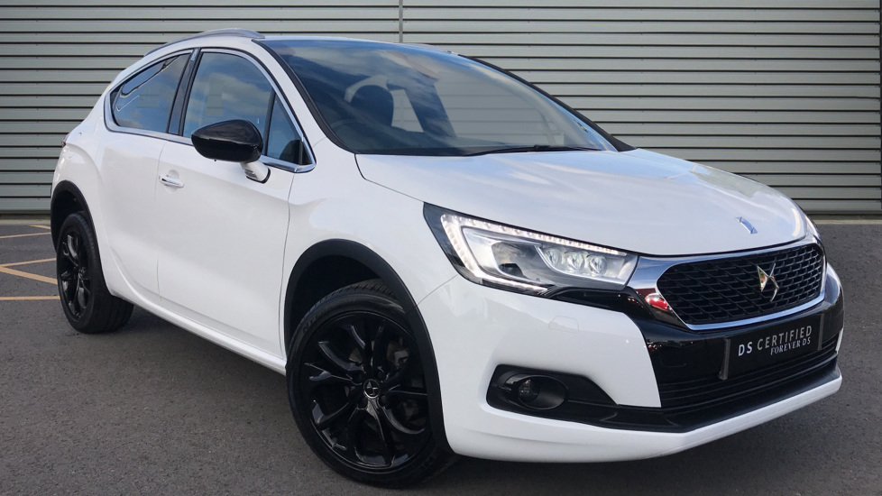 Used DS Automobiles DS 4 CROSSBACK Hatchback 1.6 BlueHDi Crossback Manual (s/s) 5dr