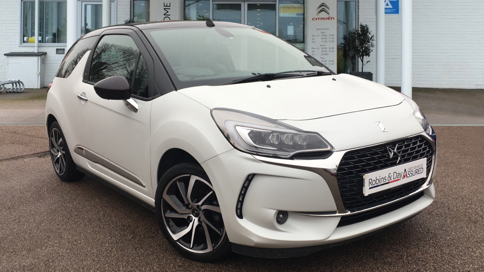 Used DS Automobiles DS 3 CABRIO Convertible 1.2 PureTech Givenchy Le Makeup Cabriolet (s/s) 2dr