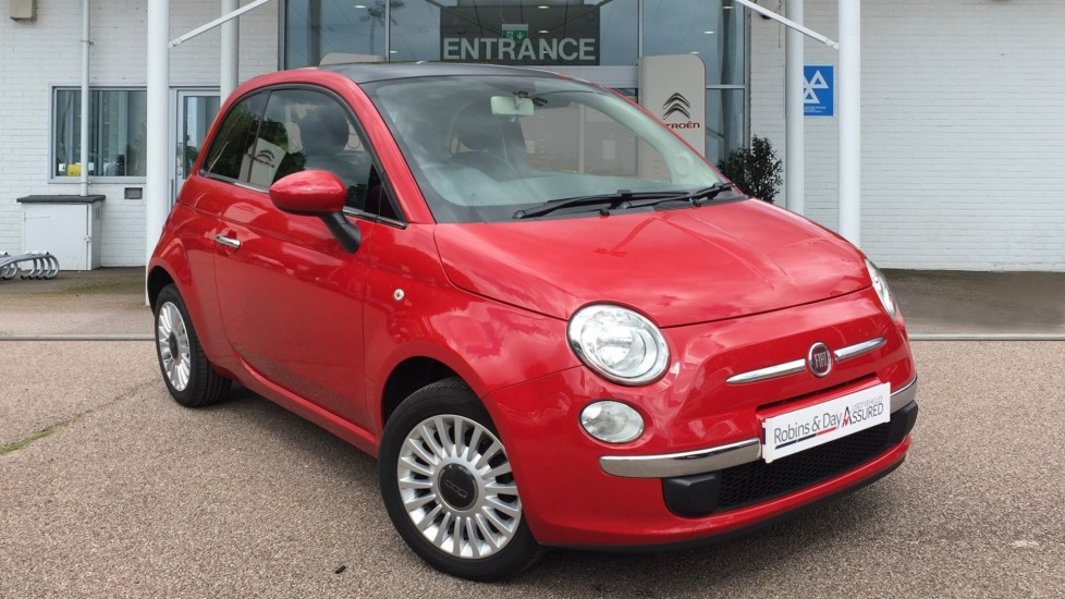 Used Fiat 500 Hatchback 1.2 Lounge (s/s) 3dr