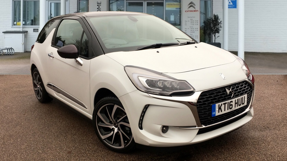 Used DS 3 Hatchback 1.2 PureTech Givenchy Le Makeup 3dr (start/stop)