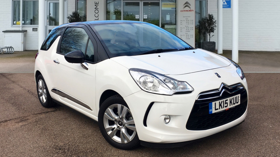 Used Citroen DS3 Hatchback 1.2 PureTech DSign Plus 3dr