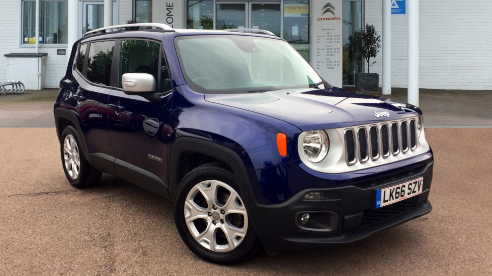 Used Jeep RENEGADE SUV 1.4 T MultiAirII Limited DDCT (s/s) 5dr