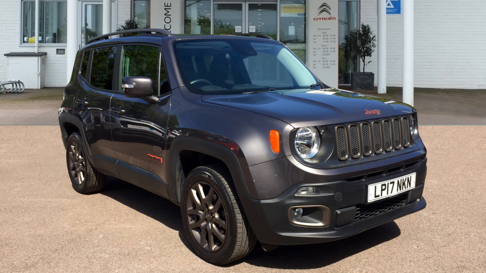 Used Jeep RENEGADE SUV 2.0 MultiJet II 75th Anniversary 4WD (s/s) 5dr