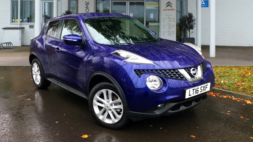 Used Nissan JUKE SUV 1.2 DIG-T N-Connecta 5dr (start/stop)
