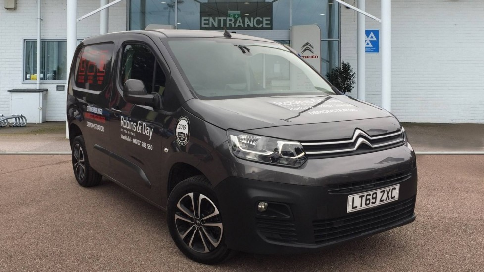 Used Citroen Berlingo Panel Van 1.5 BlueHDi 1000 Driver M SWB EU6 5dr