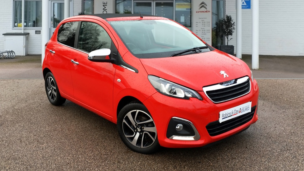 Used Peugeot 108 Convertible 1.2 VTi PureTech Allure TOP! 5dr