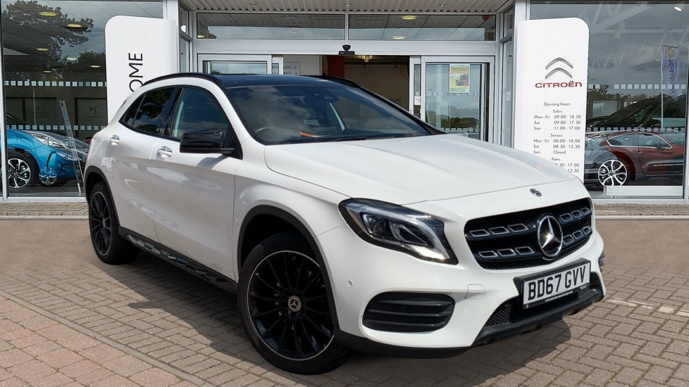 Used Mercedes-benz GLA Class SUV 2.1 GLA220d AMG Line (Premium Plus) 7G-DCT 4MATIC (s/s) 5dr