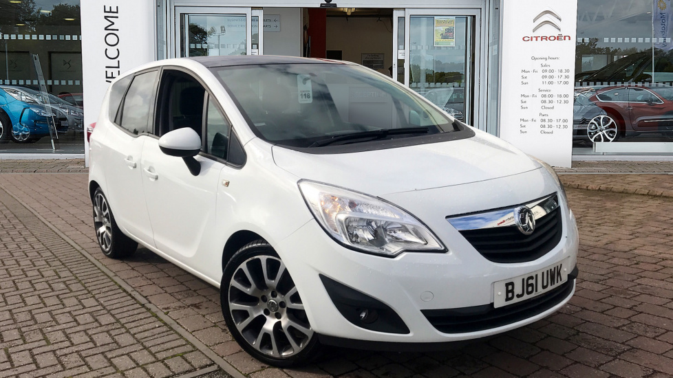 Used Vauxhall MERIVA MPV 1.4 i 16v Exclusiv Limited Edition 5dr