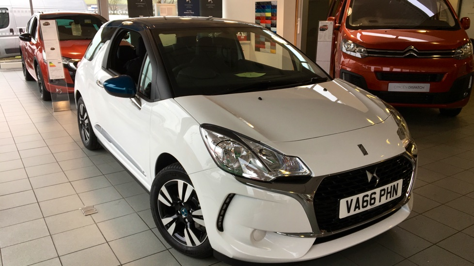 Used DS 3 Hatchback 1.2 PureTech Chic 3dr (start/stop)