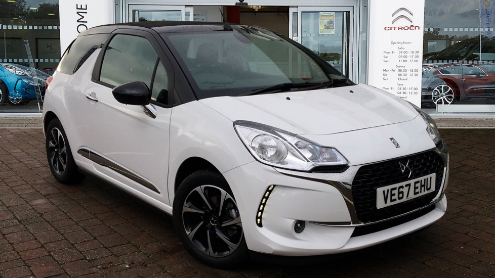 Used DS 3 CABRIO Convertible 1.2 PureTech Elegance Cabriolet 2dr (start/stop)