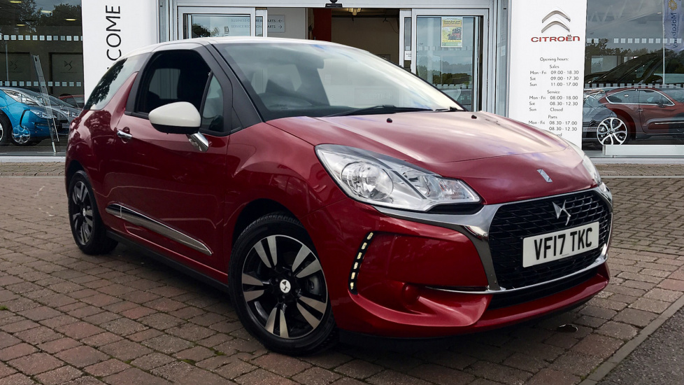 Used DS 3 Hatchback 1.6 BlueHDi Chic 3dr (start/stop)