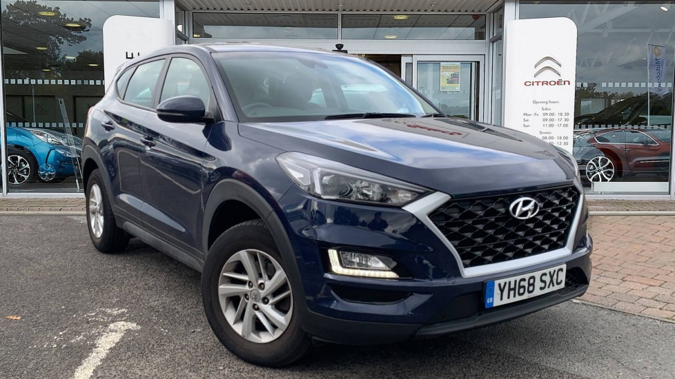 Used Hyundai TUCSON SUV 1.6 GDi S Connect (s/s) 5dr