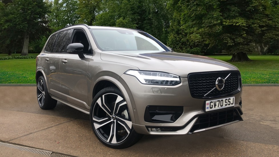 Volvo XC90 B5P Mild Hybrid R Design Pro AWD Auto, Lounge, Climate & Driver Assist Packs, Sunroof, 360 Camera 2.0 Petrol/Electric Automatic 5 door 4x4 (2021) image