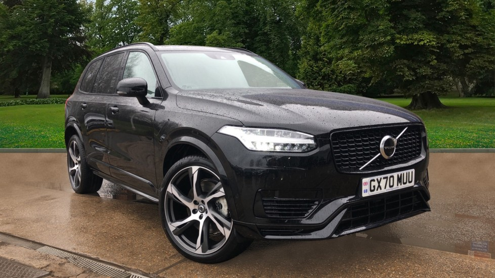Volvo XC90 T8 Recharge PHEV R Design Pro AWD Auto, Lounge, Driver Assist & Climate Packs, B & W Audio 2.0 Petrol/Electric Automatic 5 door 4x4 (2021) image