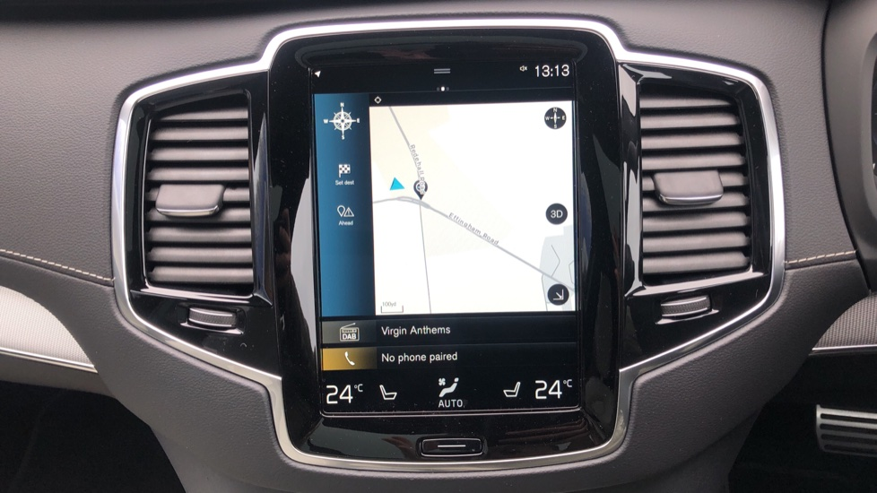 Volvo XC90 T8 Recharge PHEV R Design Pro AWD Auto, Lounge, Driver Assist & Climate Packs, B & W Audio image 13