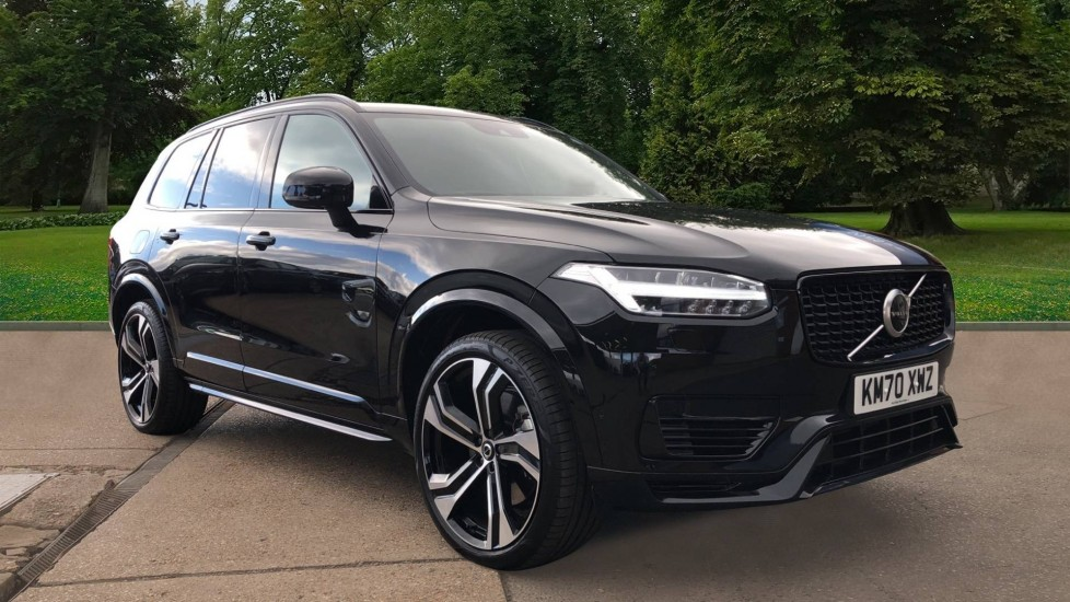 Volvo XC90 T8 Recharge Plug in Hybird AWD R Design Pro Nav Auto with Pan Roof, 360 Cam, BLIS, H/Kardon  & A/Sus 2.0 Petrol/Electric Automatic 5 door 4x4 (2020) image