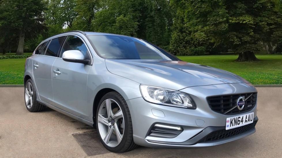 Volvo V60 D4 R Design Nav Auto, Sensus Navigation, Rear Park Sensors, Heated Seats, Towbar, 2.0 Diesel Automatic 5 door Estate (2014)