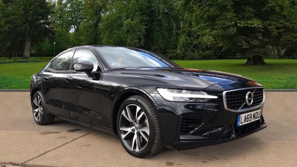 Volvo S60 T8 Hybrid R Design Plus AWD Auto, Winter Pk, Active Bending Lights, F & R Sensors, Keyless Drive 2.0 Petrol/Electric Automatic 4 door Saloon (2020)
