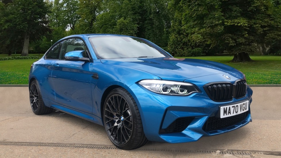 BMW M2 M2 Competition 2dr DCT Auto, 405bhp, Adaptive LED Lights, Harman Kardon, Wireless Phone Charging 3.0 Automatic Coupe (2020) image