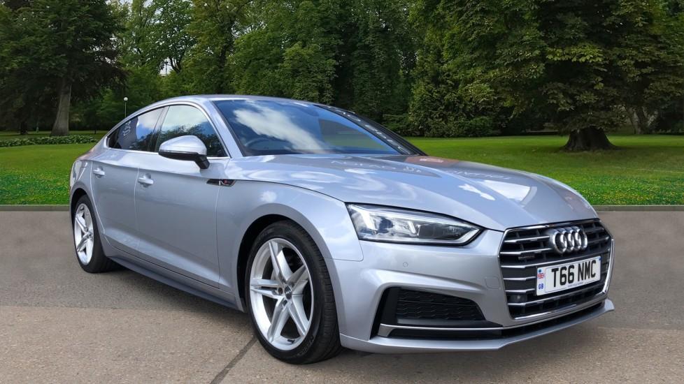 Audi A5 2.0 TDI Quattro S Line Auto, Nav, Heated Seats, Parking Sensors, Bluetooth, CD Player Diesel Automatic 5 door 4x4 (2017)