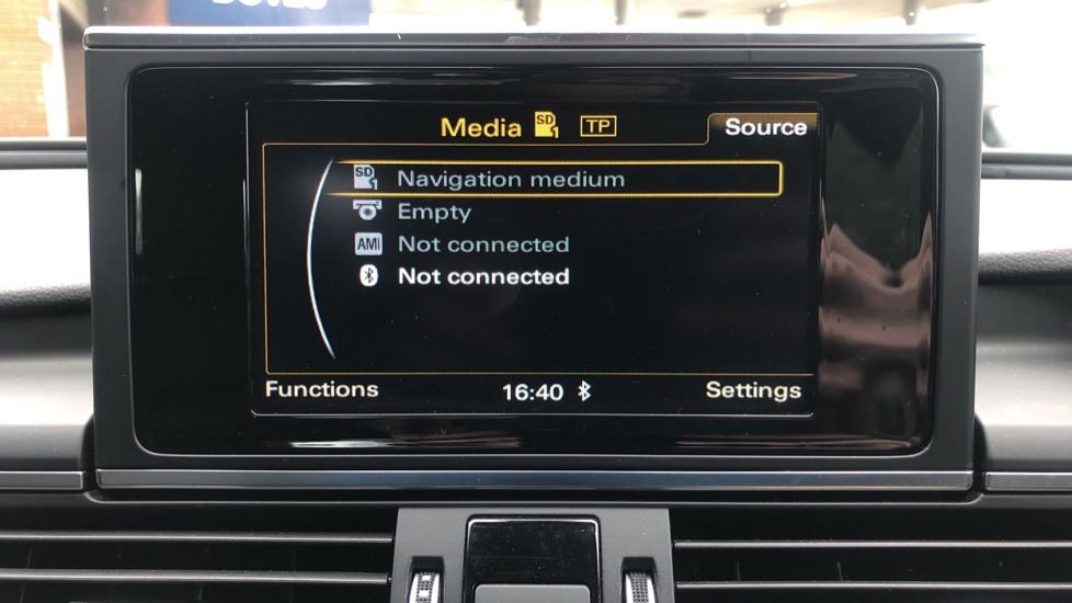 Audi A6 2.0 TDI Ultra S Line Auto, Navigation, Front & Rear Sensors, IPod, Bluetooth Phone & Audio image 19