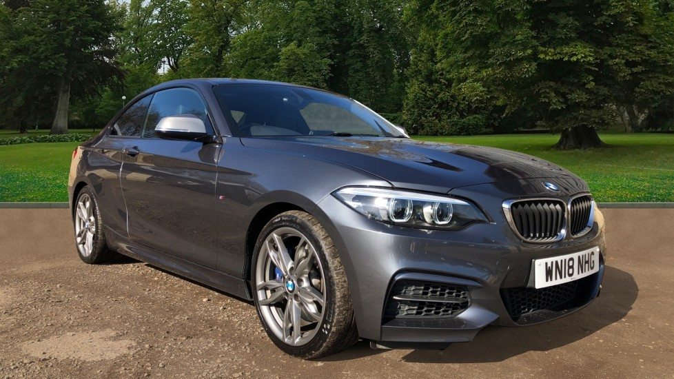 BMW 2 Series M240i 2dr Auto, Nav, Parking Sensors, DAB Radio, Cruise Control, Full Leather 3.0 Automatic Coupe (2018)