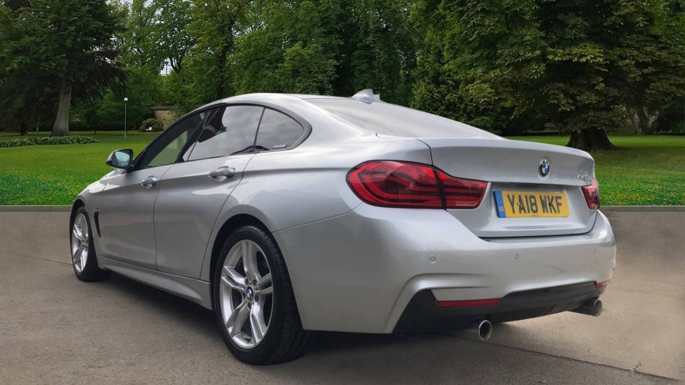 BMW 4 Series 440i Gran Coupe M Sport Auto, 5dr Hatch, Nav, Sports Seats, Park Sensors, Heated Seats image 3