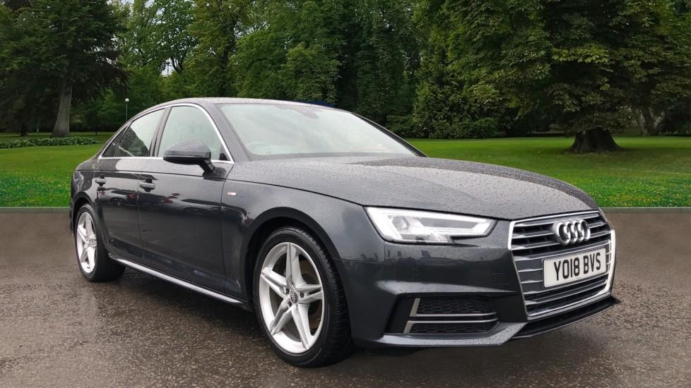 Audi A4 2.0T FSI S Line S Tronic Auto, Nav, Virtual Cockpit, Wireless Phone Charging, Parking Sensors, DAB image 1