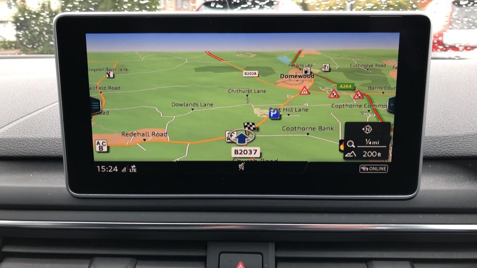 Audi A4 2.0T FSI S Line S Tronic Auto, Nav, Virtual Cockpit, Wireless Phone Charging, Parking Sensors, DAB image 5