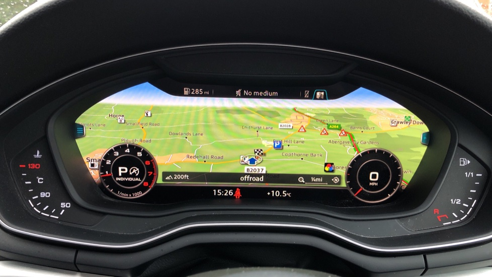 Audi A4 2.0T FSI S Line S Tronic Auto, Nav, Virtual Cockpit, Wireless Phone Charging, Parking Sensors, DAB image 6