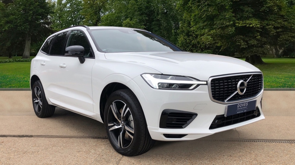 Volvo XC60 T8 AWD Plug in Hybrid R Design Nav Auto with Pan Roof, H/Seats, Privacy, Keyless Drive & Bluetooth 2.0 Petrol/Electric Automatic 5 door 4x4 (2021) image