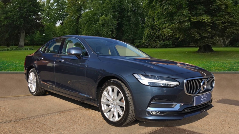 Volvo S90 D4 190hp Inscription Auto with Nav, Pilot Assist, Winter Pk with Heated S/Wheel & DAB Radio 2.0 Diesel Automatic 4 door Saloon (2017)
